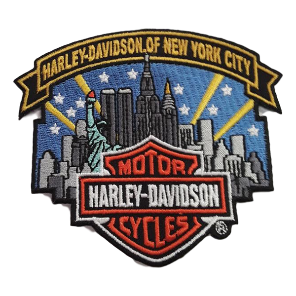 Harley-Davidson NYC Skyline Patch