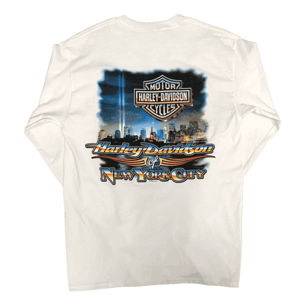 back-harley-davidson-nyc-beams-of-light-long-sleeve-white