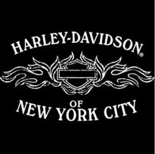 Harley-Davidson Genuine Women's Refined Logo 3/4 Sleeve Tee w/NYC Graphic