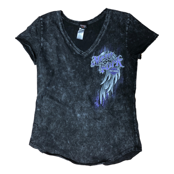 NYC Women's Exclusive Wings V-Neck Tee