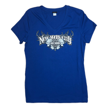 front-harley-davidson-nyc-womens-exclusive-v-neck-sharp-tee-royal-blue