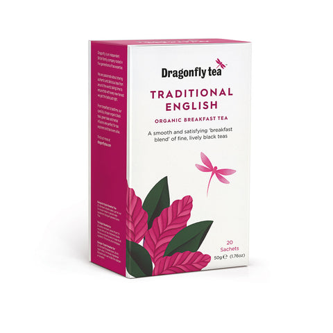 Traditional English, Organic Breakfast Tea, 20 sachets