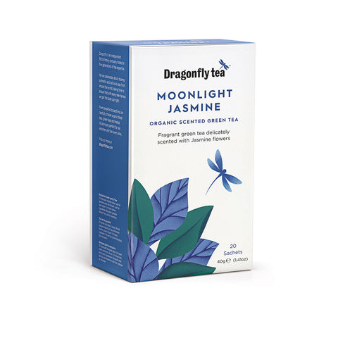 Moonlight Jasmine, Organic Green Tea, 20 sachets