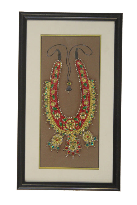 Rajasthan Miniature Painting On Paper