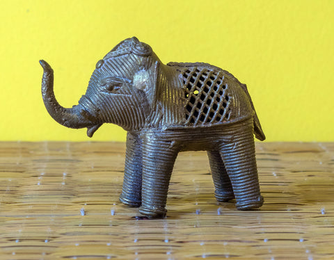 Dokra Brass Elephant- Small