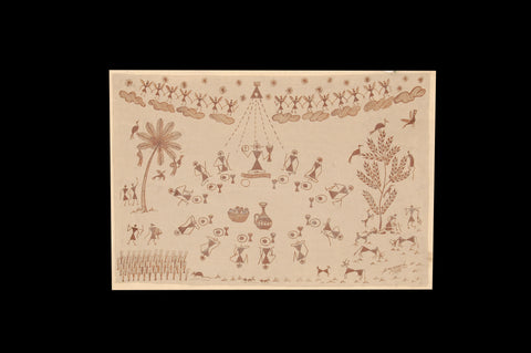Warli Painting on Clothe