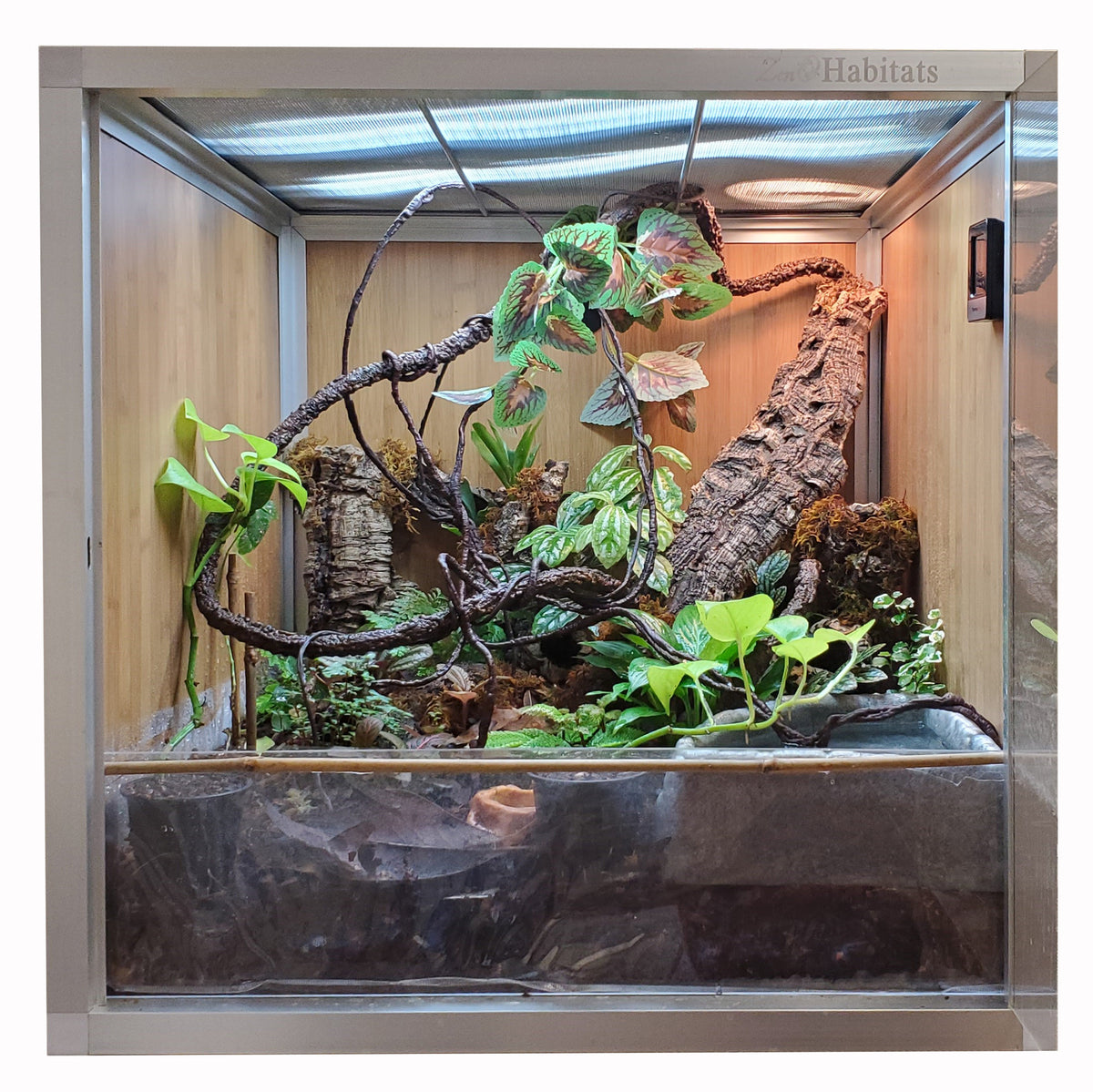 Bio-Basin for 4'x2' Zen Habitats Base Enclosures