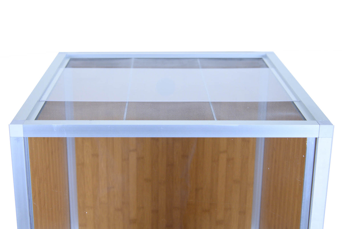 2'x2'x4' PVC Panel Crested Gecko Enclosure by Zen Habitats