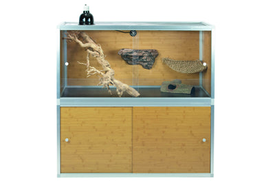 4'x2'x2' Wood Panel Bearded Dragon Enclosure by Zen Habitats