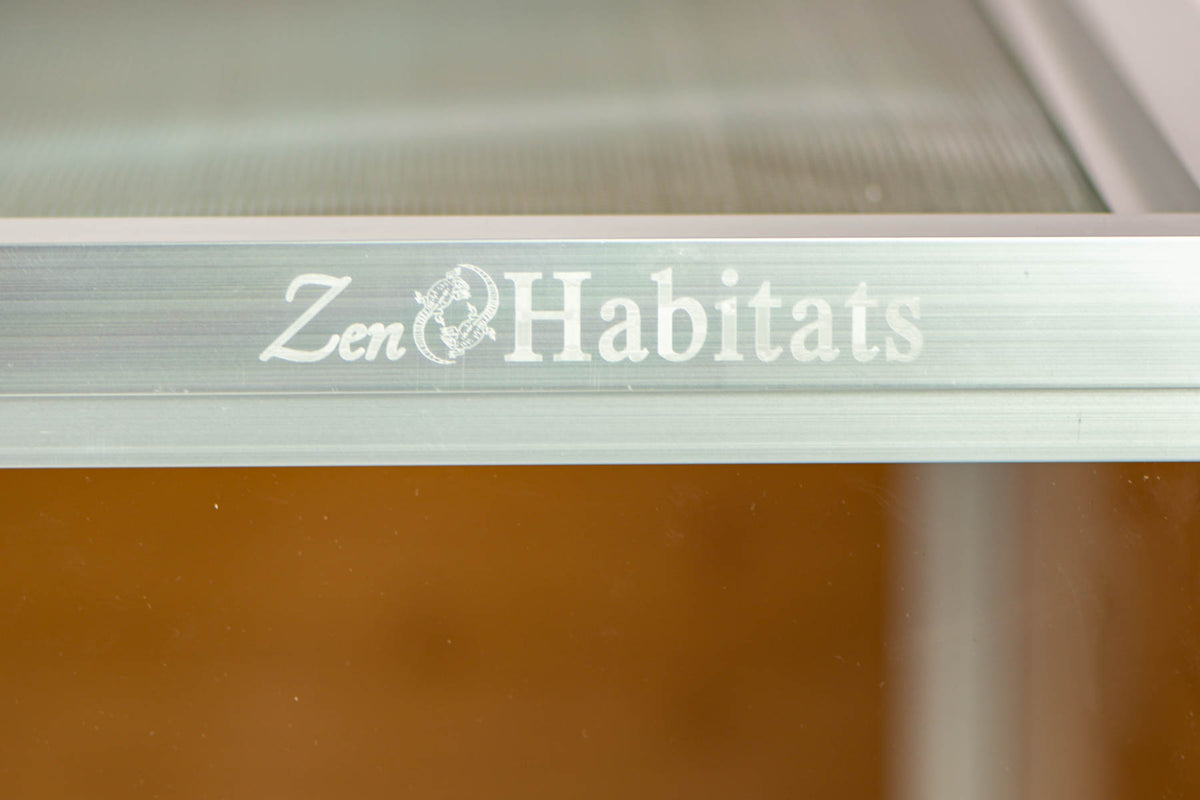 4'x2'x4' PVC Panel Bearded Dragon Enclosure by Zen Habitats