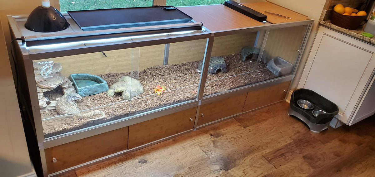 Extension Kit for 4'x2'x2' Zen Habitats Enclosures