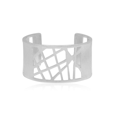 Cuff Bangle Handcrafted Sterling Silver