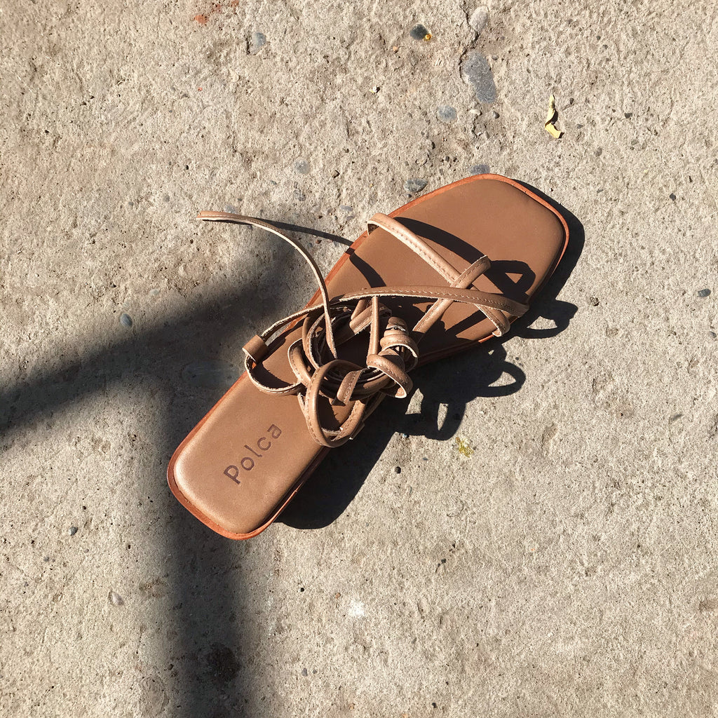 Strap Sandals, Toffee