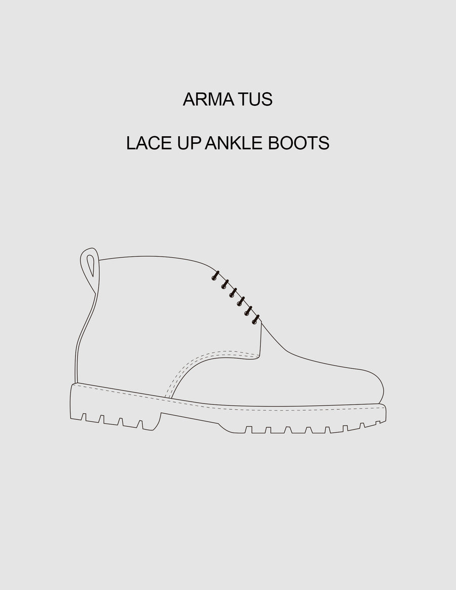 Arma Tus Lace Up Ankle Boots