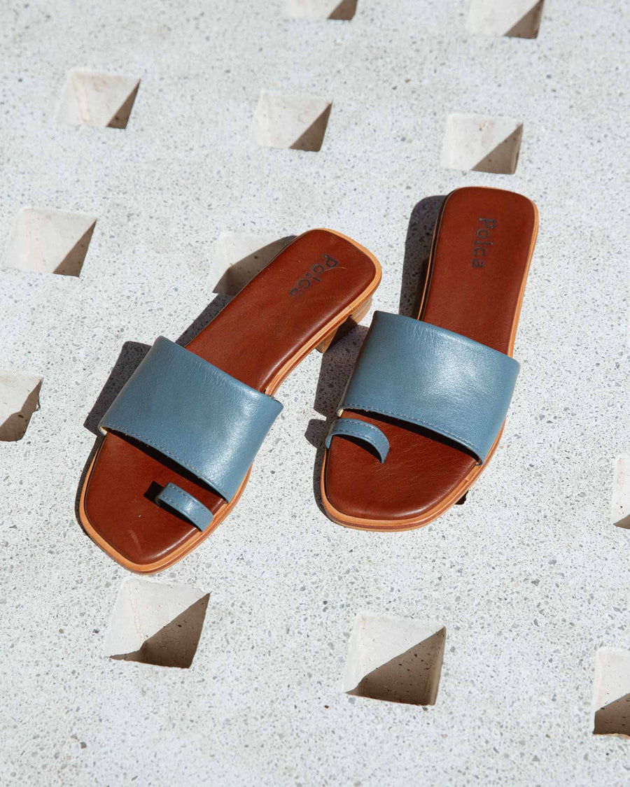 Egeo Toe Ring Slide Sandals