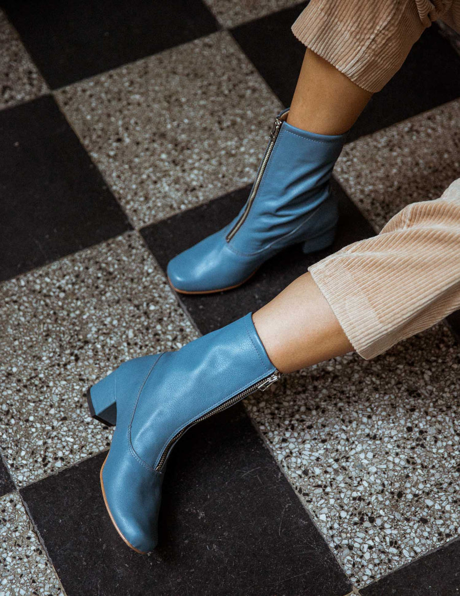 Aegean Square Ankle Boots