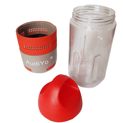 Audiyo Music Sports Bottle Bluetooth Speaker- Audiyo Audiyo