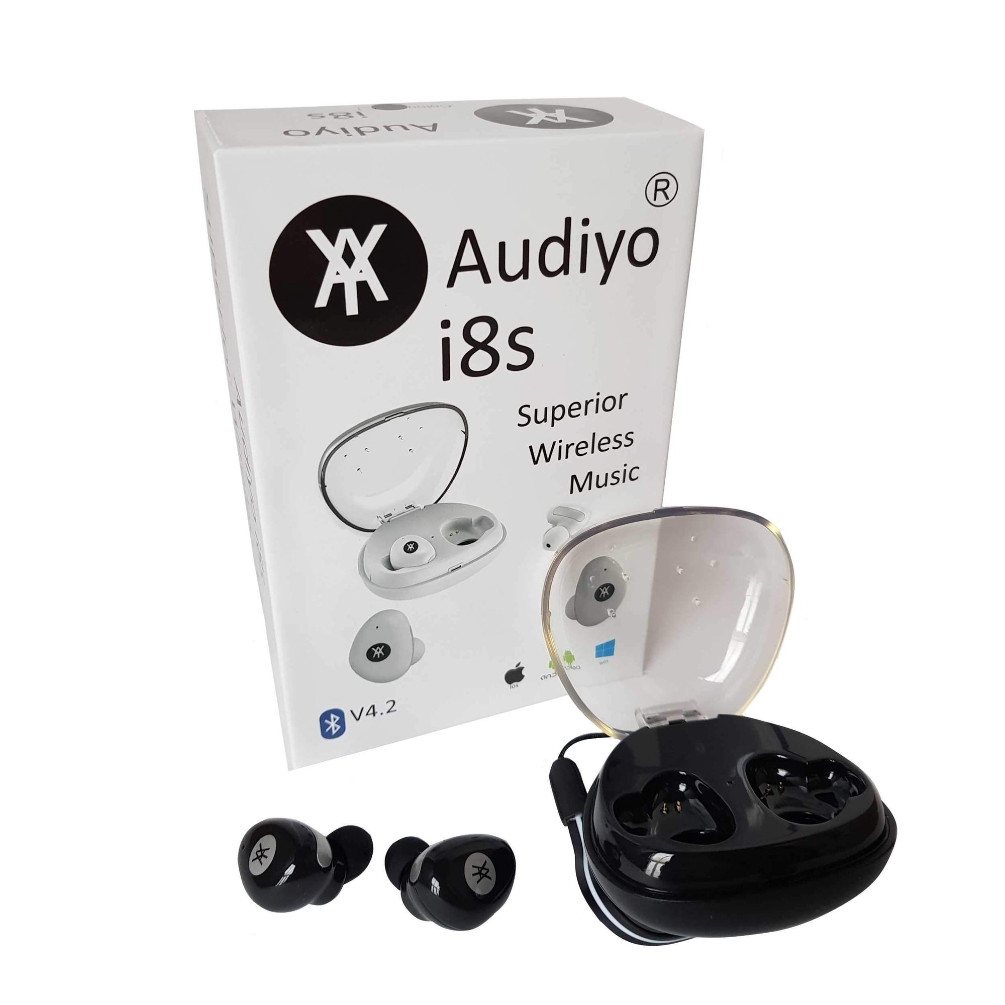 Audiyo i8s Superior Wireless Headphones