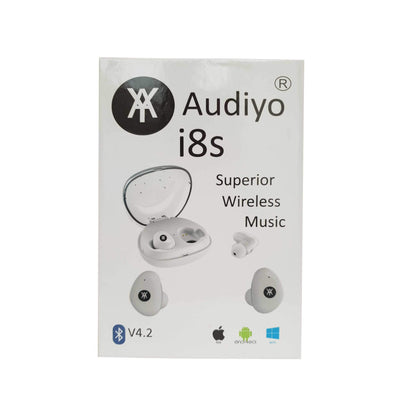 Audiyo i8s Superior Wireless Headphones Wireless Earbuds- Audiyo Audiyo