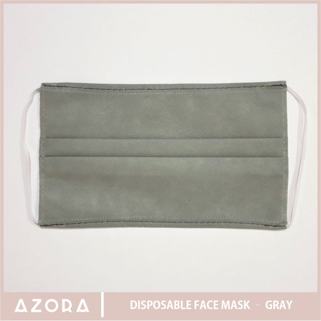 SET OF 50 Disposable Face Mask - Gray