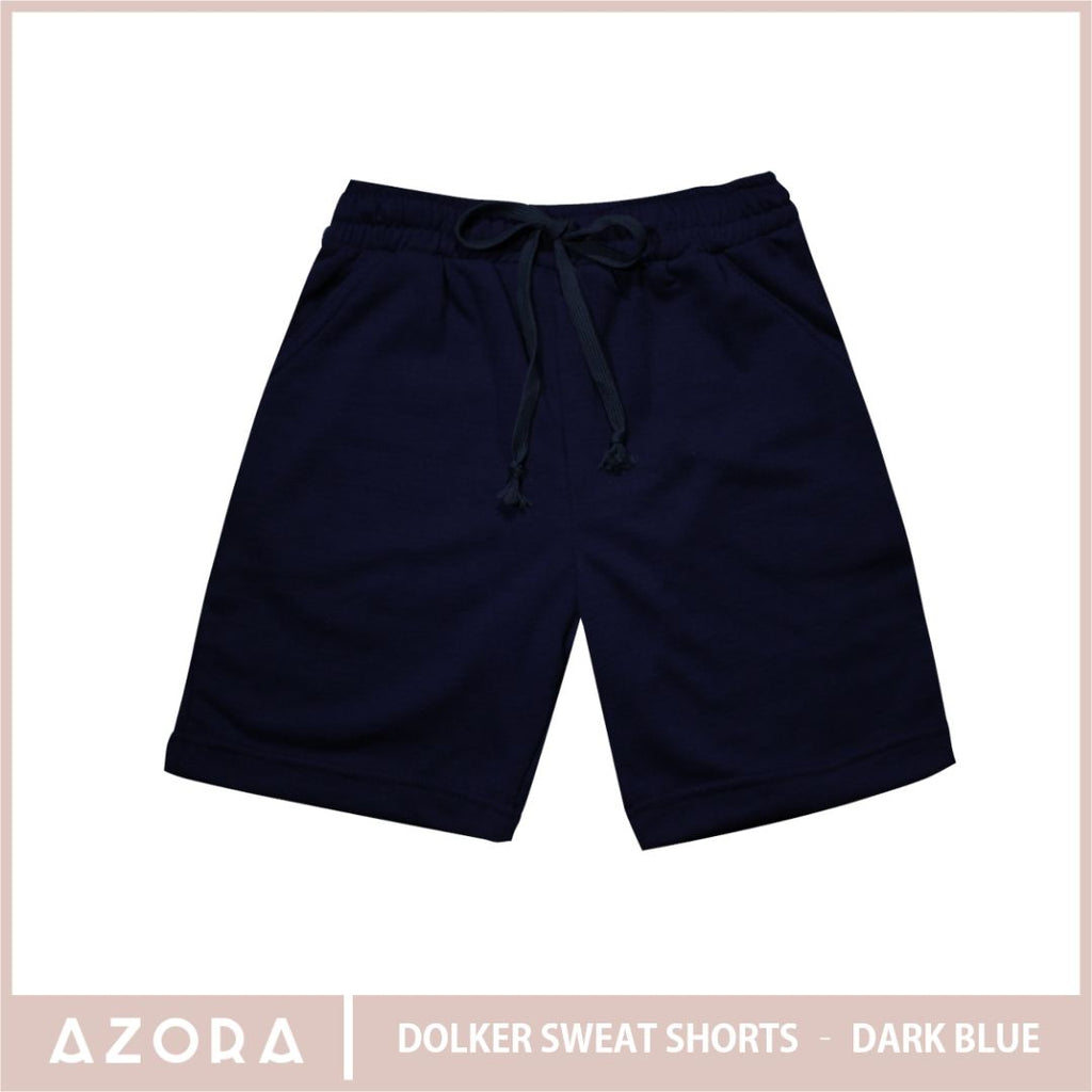 Dolker Sweat Shorts - Dark Blue