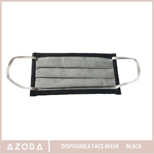 SET OF 50 Black Disposable Face Mask