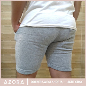 Dolker Sweat Shorts - Light Gray