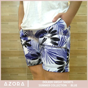 Dolker Sweat Shorts Summer Collection - Blue
