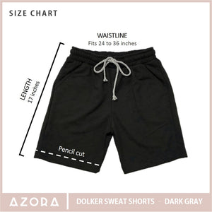Dolker Sweat Shorts - Dark Gray