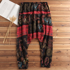 RAVER Ethnic Harem Pants for Men