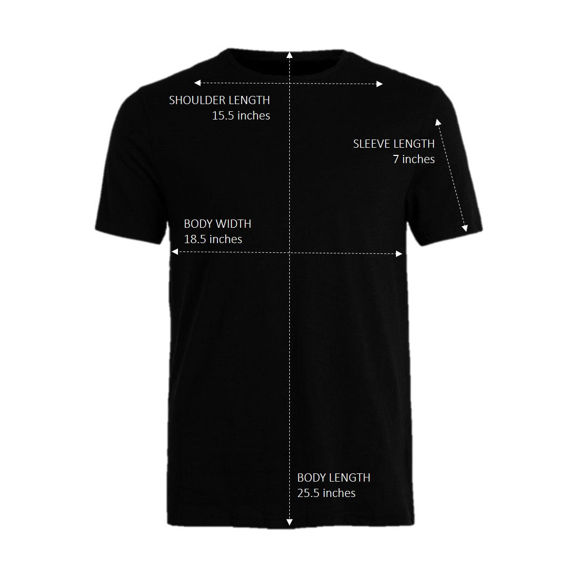 3-PACK Dearion Slim Fit T-Shirts Black (2+1 Promo)