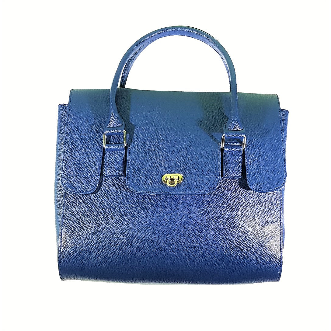 Hermie Navy Blue Hand Bag