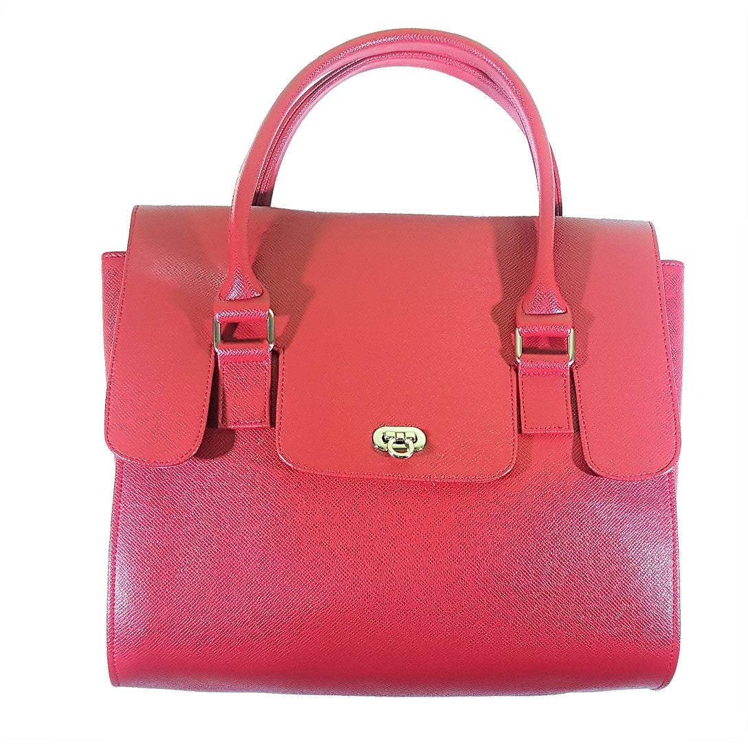 Hermie Red Hand Bag