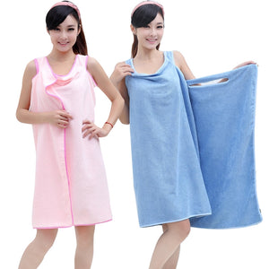 BUY 1 TAKE 1 Yumi Microfiber Wearable Towel (Pink and Blue)