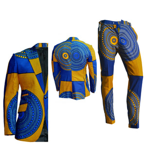 MARYO MEN'S ANKARA SUIT