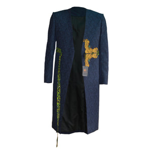 SAKKORA ANDROGYNOUS LONG JACKET. #churchscience