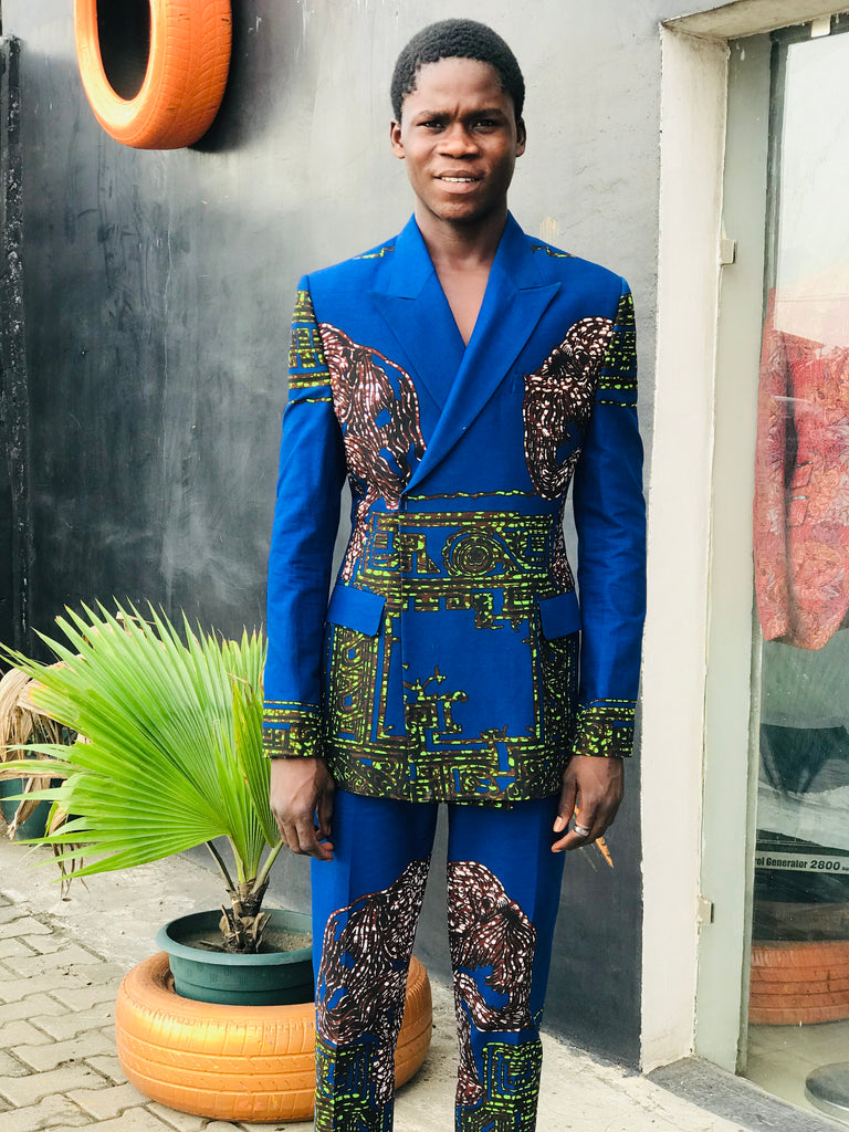 NNADI-GLENN  Ankara suit- Church Science  SS19