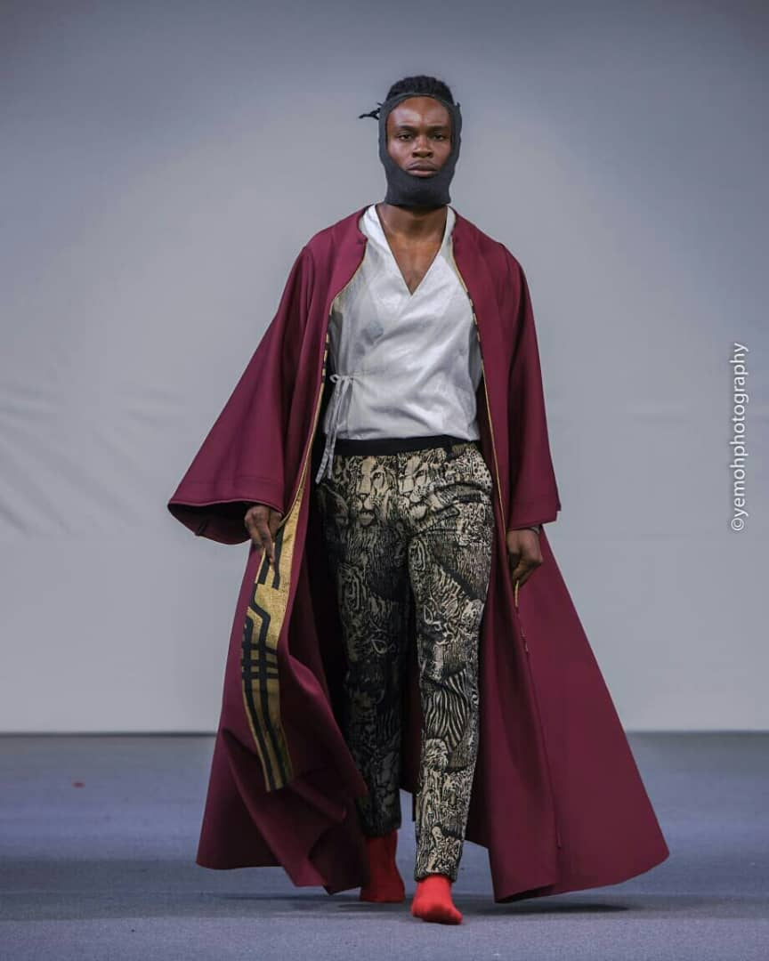 Full set of The royal Masquerade Cape, Tokyo inspired shirt and lion pant. #ss20