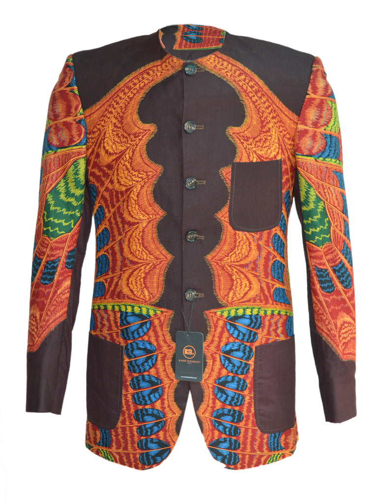 EHVE KREBABA men's Ankara JACKET #churchscience