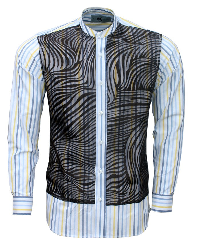 KAMSI TCHARLES UBAIRE Long Sleeves Casual Shirt