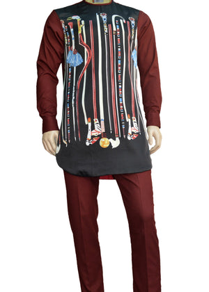 OGIDI -AMADI-SS18 contemporary African men's Kaftan