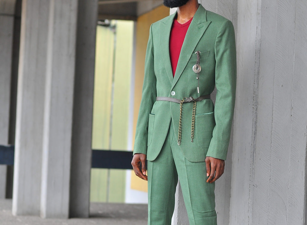 SEER MINT GREEN SUIT #thepreacher SS18
