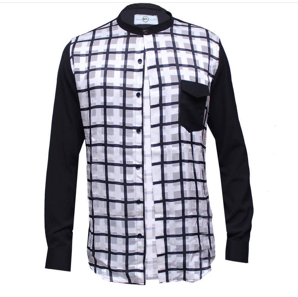 BLAK &W casual shirt.