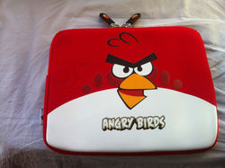 Rød Ipad cover til Angry bird, 2-8 dage levering, Ipad 2-3-4, air+Air 2