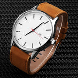 SOXY Men's Watch Fashion Watch For Men 2019 Top Brand Luxury Watch Men Sport Watches Leather Casual reloj hombre erkek kol saati