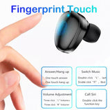 Touch TWS5.0 Earbud Wireless Bluetooth Headphone LED Display IPX7 Waterproof  Headset 6D Stereo HiFi Earphone with Power Bank