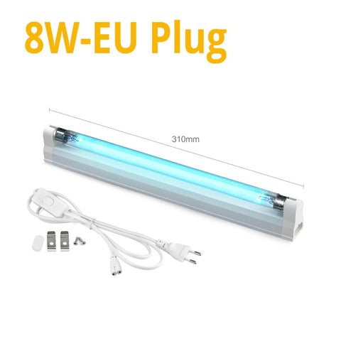 UVC Sterilizer T5 Solarium 8 W, Ultra Violet Mites Lighting Quartz UV Lamp For Disinfection Bactericidal Ultraviolet Led Light Bulb