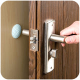 Golf Modelling Rubber Fender  Handle Door Lock Protective Pad Protection wall stick, 1 stk