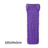 Naturehike Outdoor Inflatable Cushion Sleeping Bag Mat Fast Filling Air Moistureproof Camping Mat With Pillow Sleeping Pad 460g