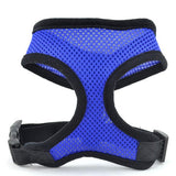 Mesh Breathable Pet Dog Harness Adjustable Outdoor Walking Vest Harness For Small Medium Dogs